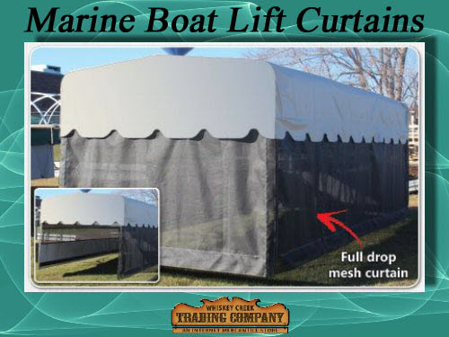 Marine Curtains Skirts Fits Shoremaster Boat Lifts
