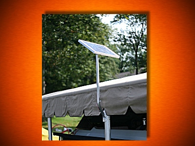 20w 24v Solar Boat Lift Charging Kit