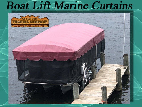 Marine Curtains Skirts Fits Shorestation Tower Boat Lifts