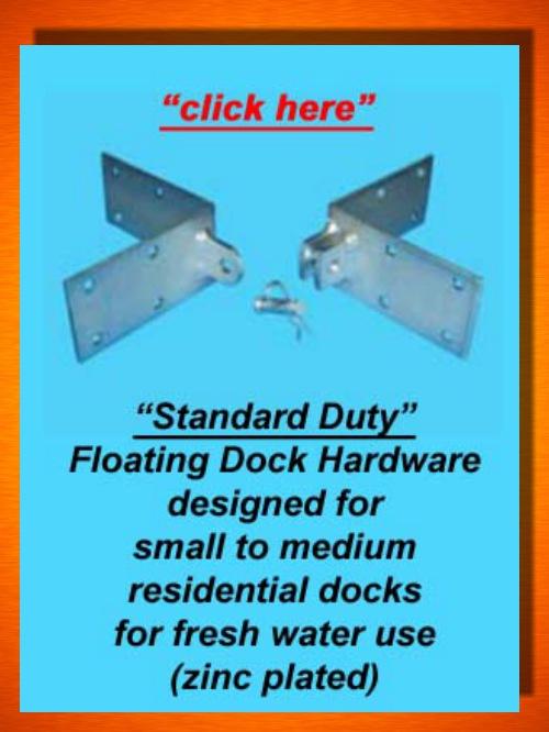 Floating Dock Hardware